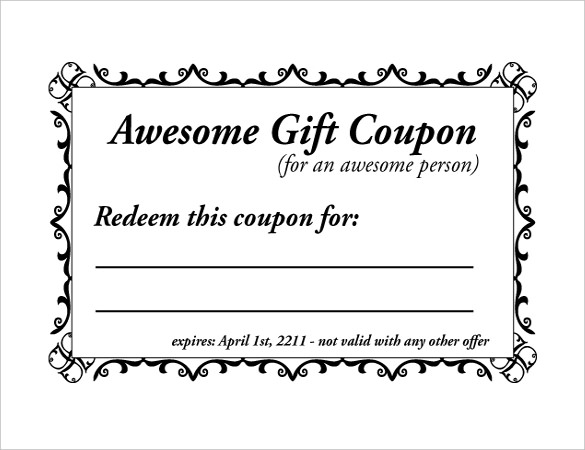 Coupon Book Template Template Business - payment coupon book template