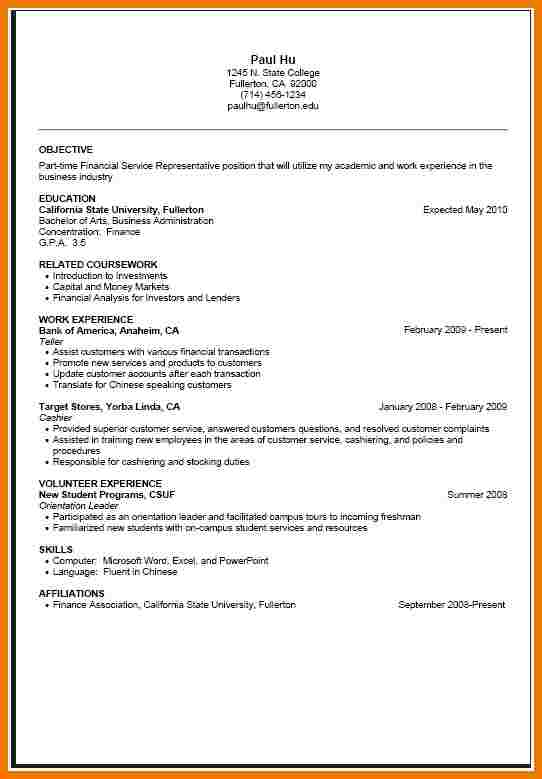 Cover Letter For Part Time Job Template Business