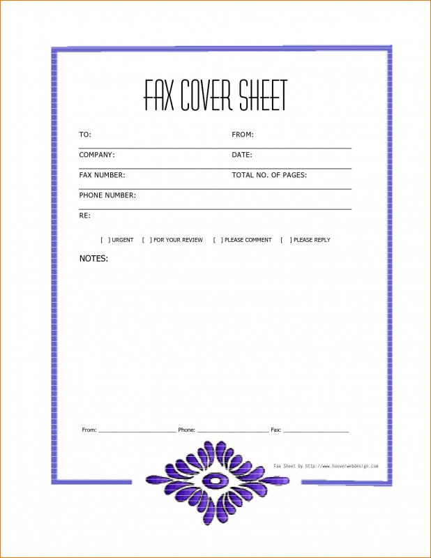 fax sheet format - Pinarkubkireklamowe