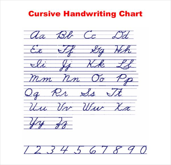 Cursive Writing Template Template Business