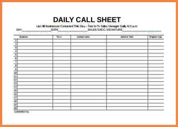 Daily Planner Template Excel Template Business