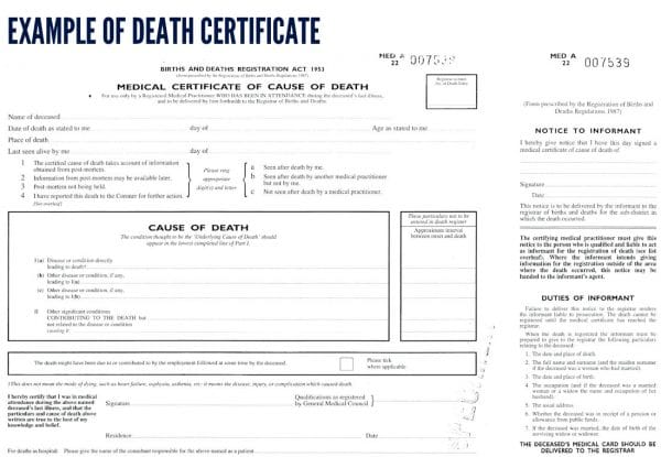 Death certificate template word madebyrichard death certificate template template business yelopaper Images