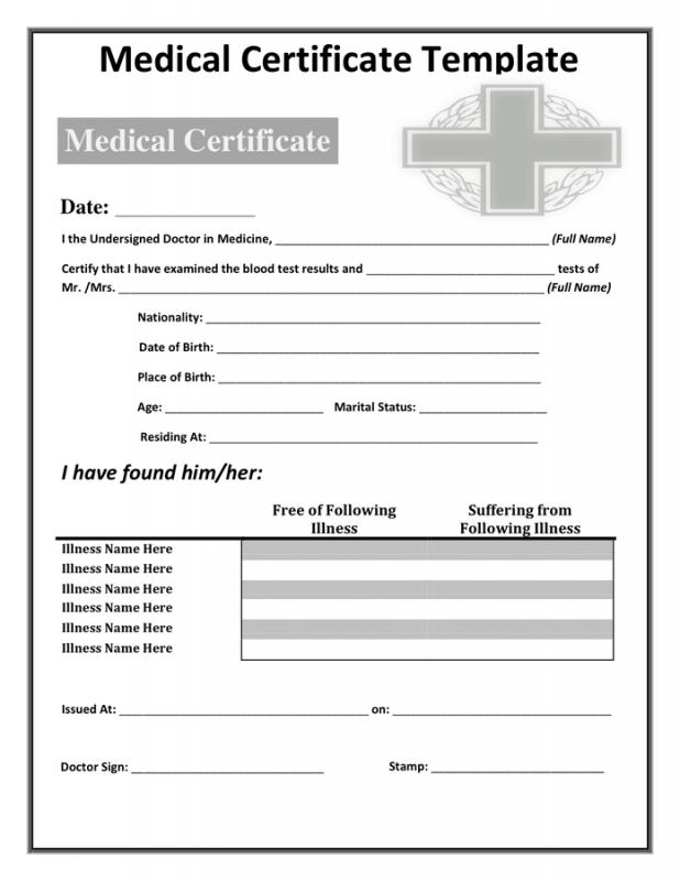 Death Certificates Templates Template Business