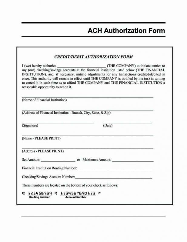 Direct Deposit Forms Direct Deposit Authorization Form Direct