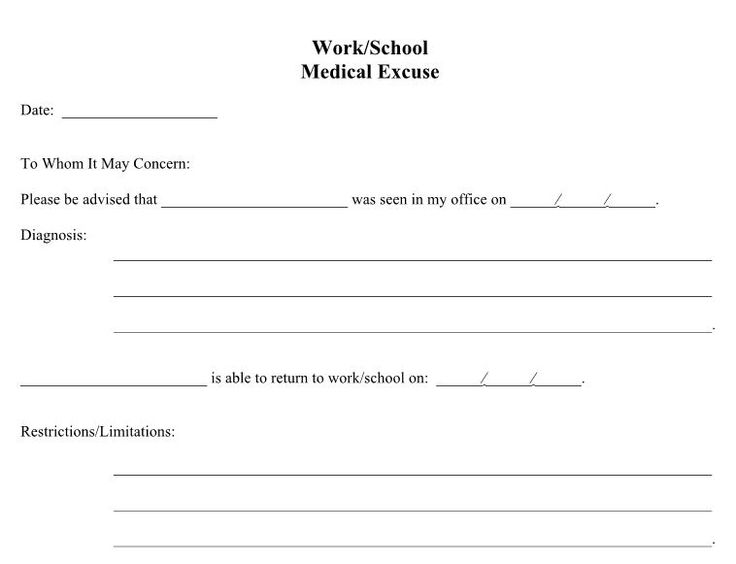 Best 25+ Doctors note ideas on Pinterest Doctors note template - school medical form