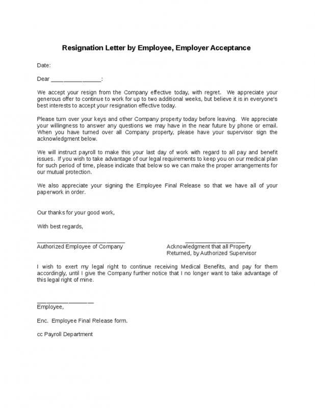 nice resignation letter - Josemulinohouse