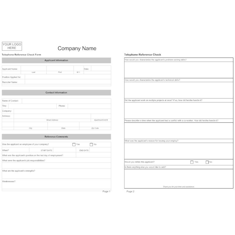 Employment Application Form Template Template Business
