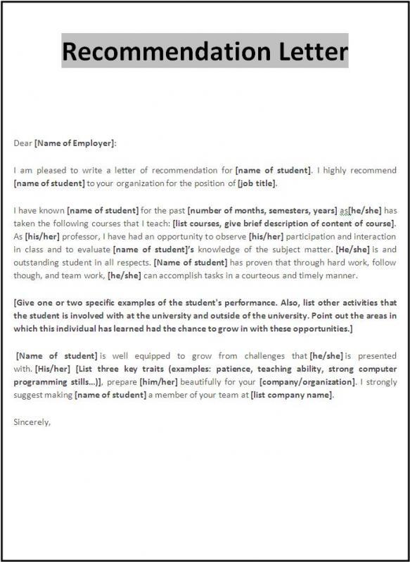 visa recommendation letter from employer - Akbagreenw