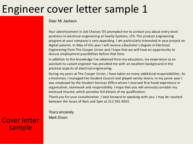 Entry Level Cover Letter Sample Template Business