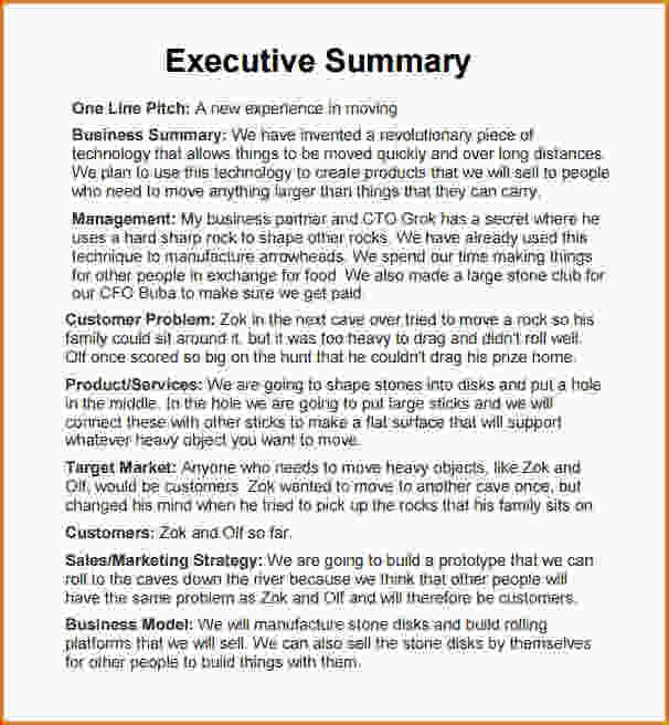 executive summary format template - Minimfagency - it executive summary template
