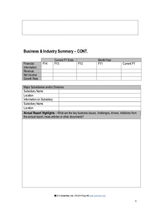 Financial Report Template Template Business