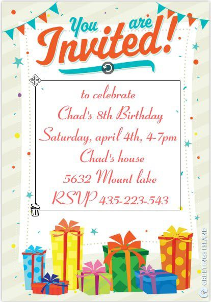 Free Birthday Invitation Templates For Adults Template Business