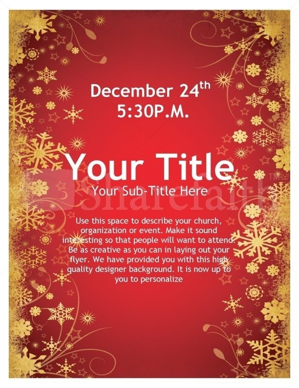 Christmas Templates Microsoft Word Choice Image - Template Design Ideas
