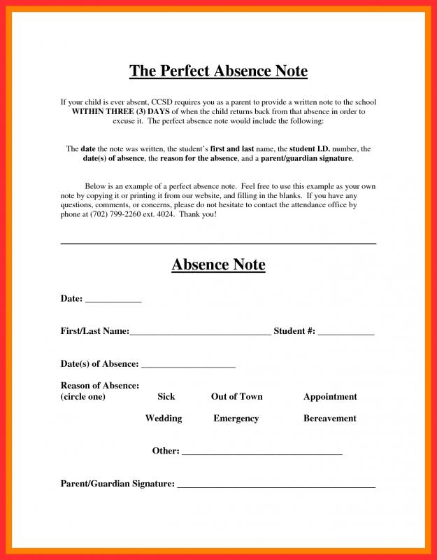 Free Fake Doctors Note Template Download Template Business - doctor note example