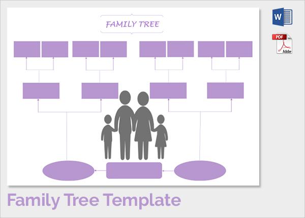 free printable family tree - Thevillas - family tree free printable