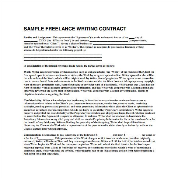 simple freelance contract - Maggilocustdesign