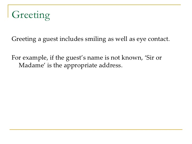 Friendly Letter Greetings Template Business