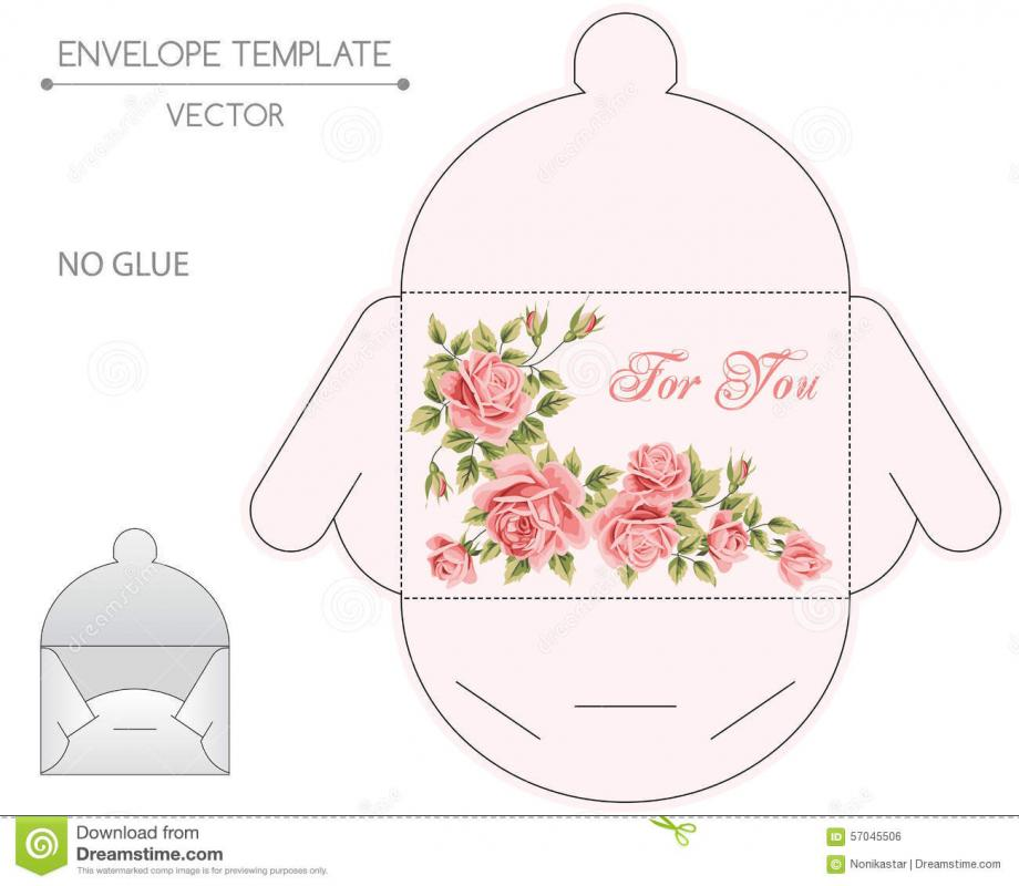 Gift Card Envelope Template Template Business - Gift Card Envelope Template