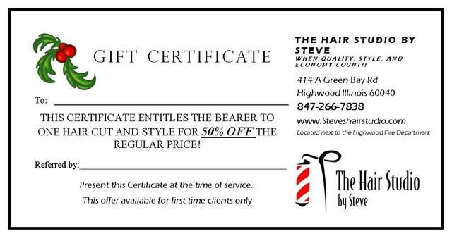 Gift Certificate Template Pages Template Business