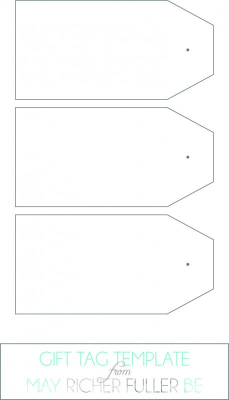 Gift Tag Template Word Template Business