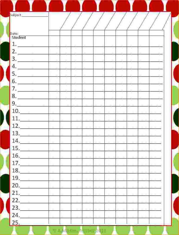grade book templates - Minimfagency - grade book template