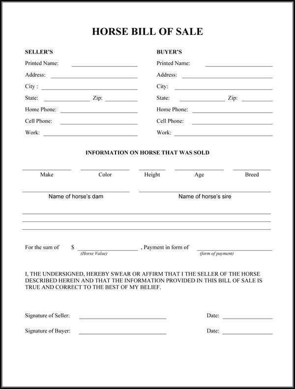 standard vehicle bill of sale form - Blackdgfitness - blank bill of sale for auto