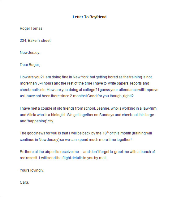 Immigration Letter For A Friend Template Business