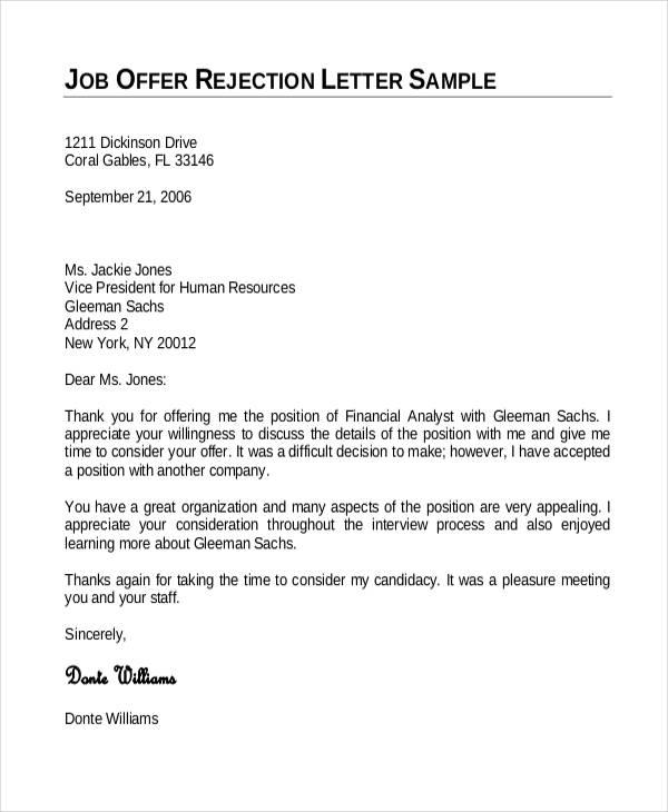 Job Offer Letter Template Template Business - job letter