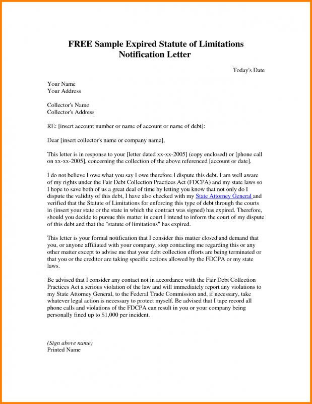 Legal Letter Format Template Business