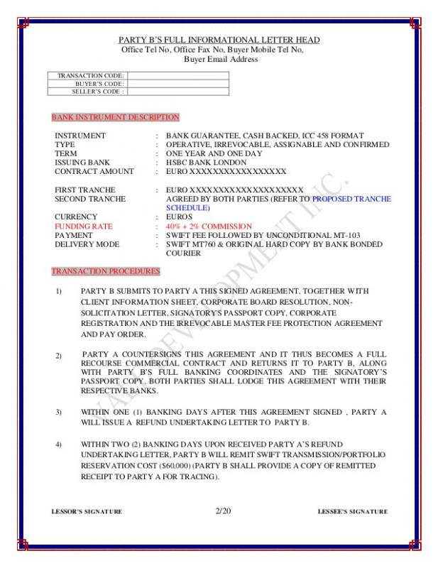Letter Head Format Template Business - copy application for bank guarantee letter format