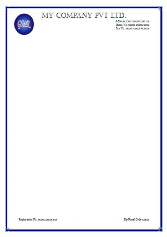 Letterhead Template Free Download Template Business - letterheads templates free download