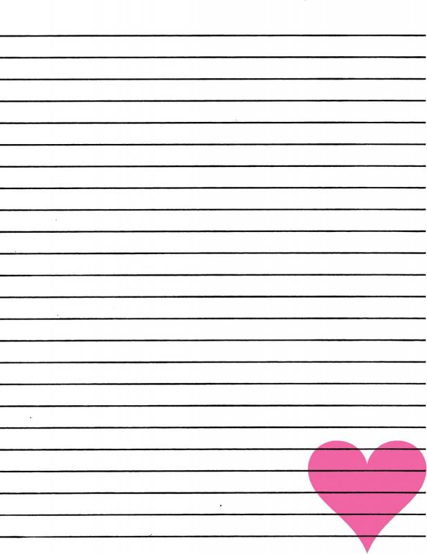 Lined Paper Printable Template Business