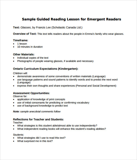 Madeline Hunter Lesson Plan Example Template Business