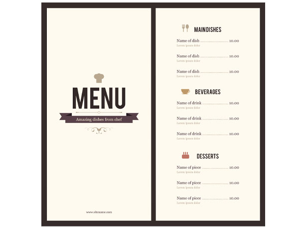 drink menu template microsoft word - Apmayssconstruction
