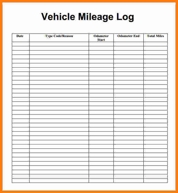 free mileage reimbursement form Simple Guidance For You In - Mileage Reimbursement Forms