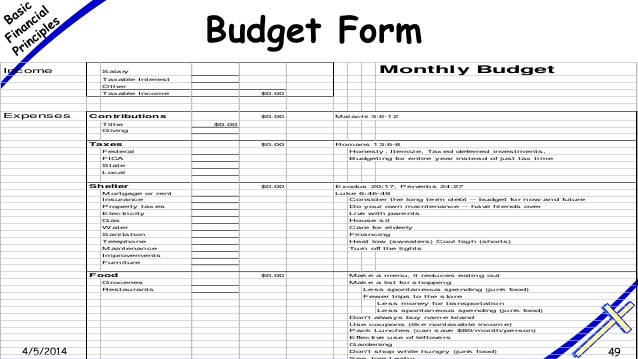sample monthly household budget - Acurlunamedia - sample monthly budget template