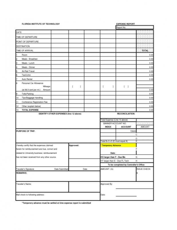 Monthly Report Template Template Business