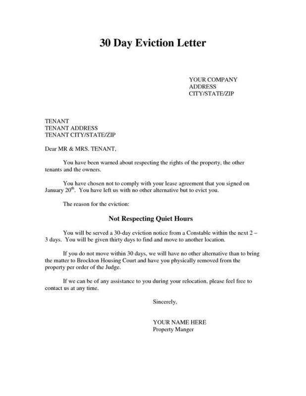 lease termination notice letter - Baskanidai