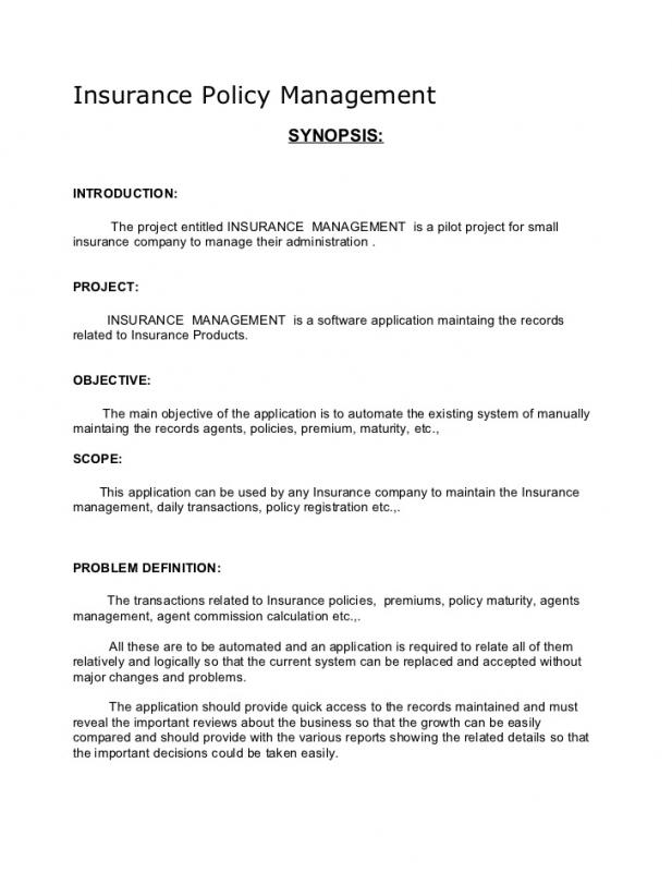 Novel Outline Example Template Business - business synopsis template