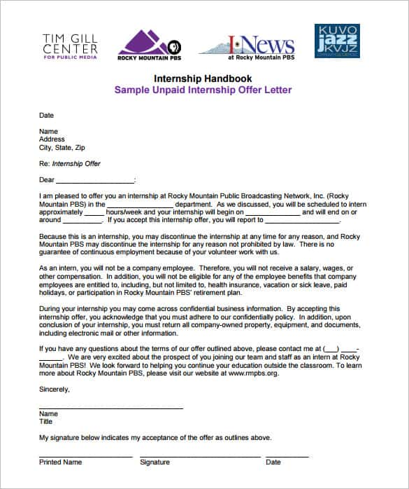 employment offer letter templates - Intoanysearch - employment offer letter