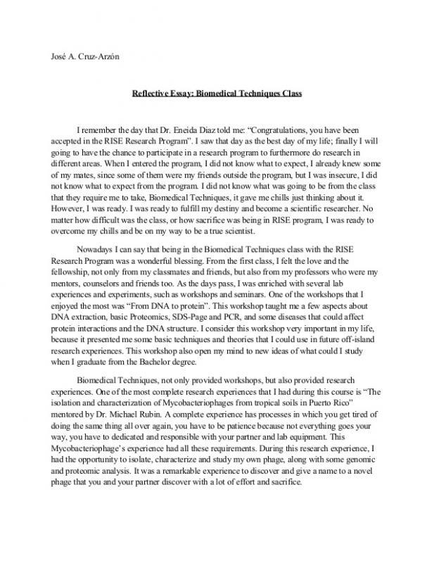 one page essay example - Canasbergdorfbib