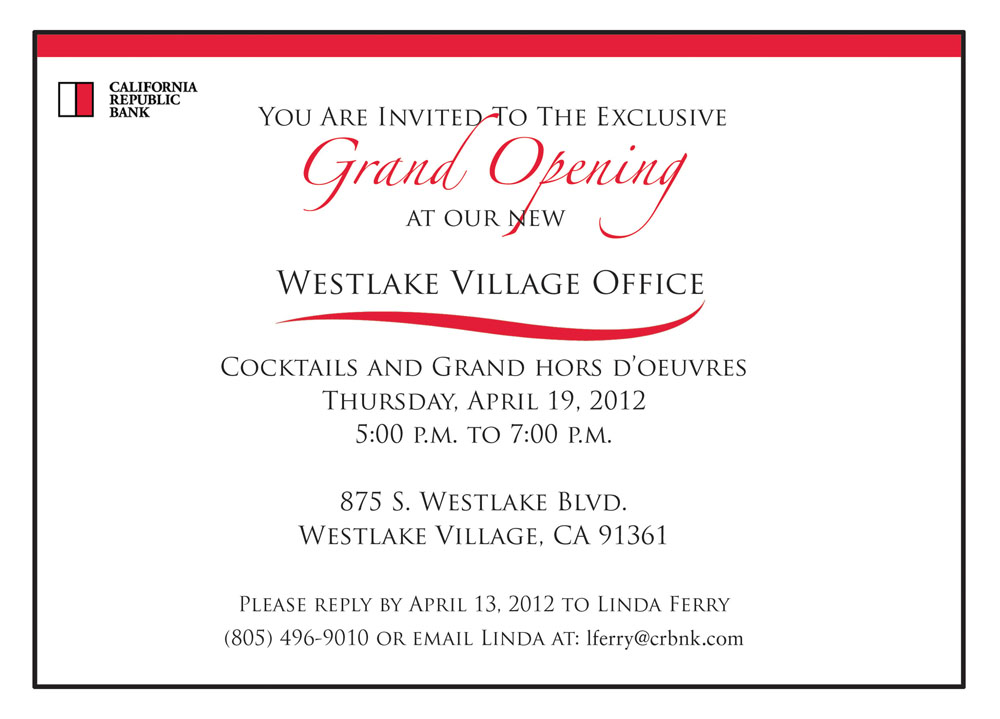Open House Invite Template Template Business