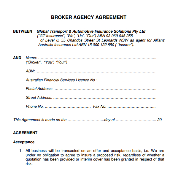 Operating Agreement Sample Template Business