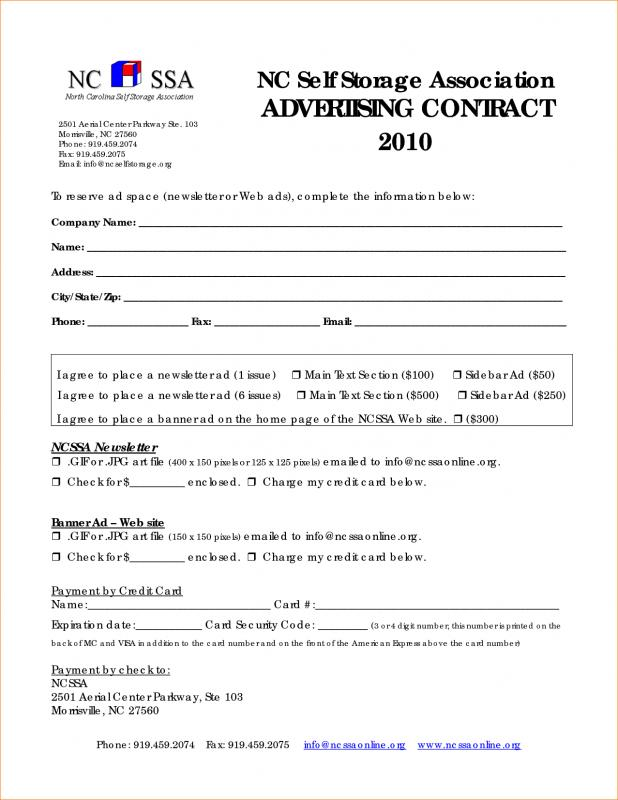 Pay Stub Templates Template Business - Advertising Contract Template