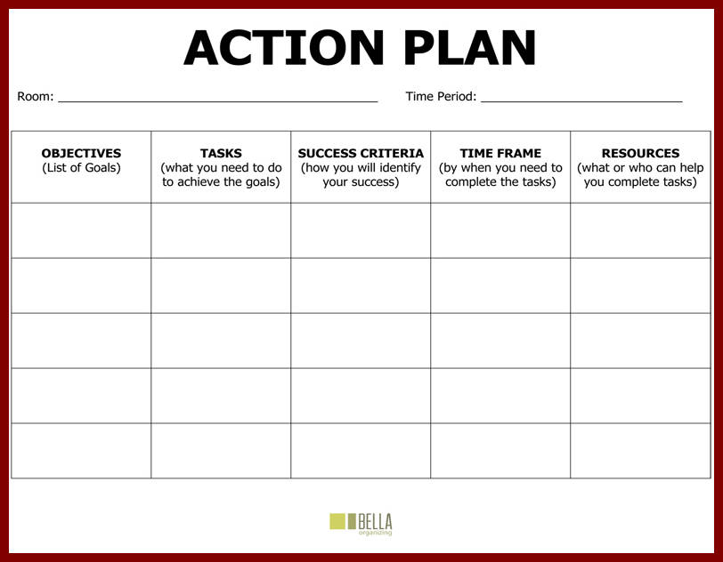 action plan template powerpoint trattorialeondoro