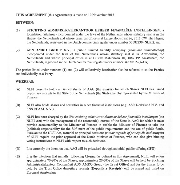 Prenuptial Agreement Templates Template Business - sample prenuptial agreement template