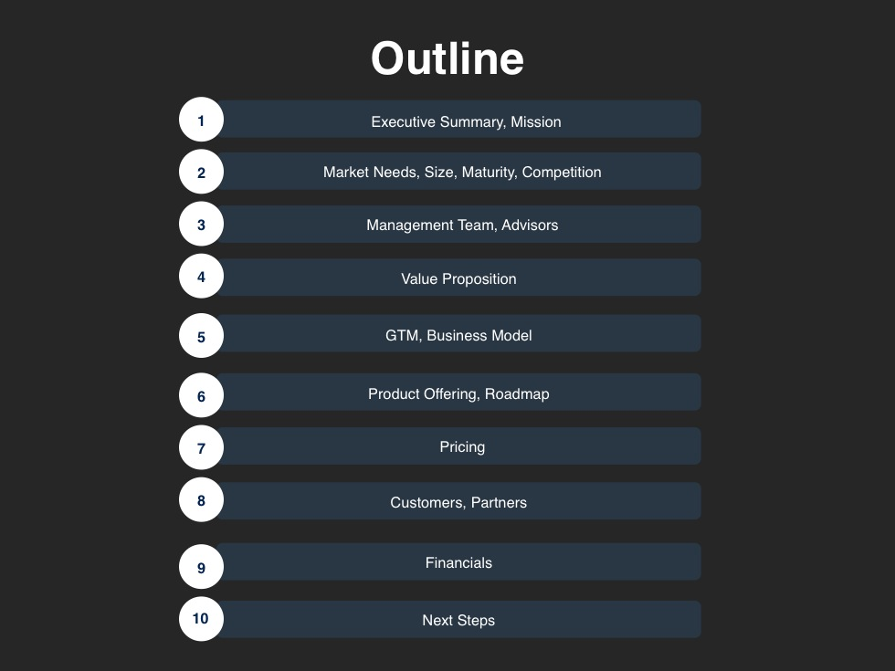 powerpoint presentation outline sample - Intoanysearch
