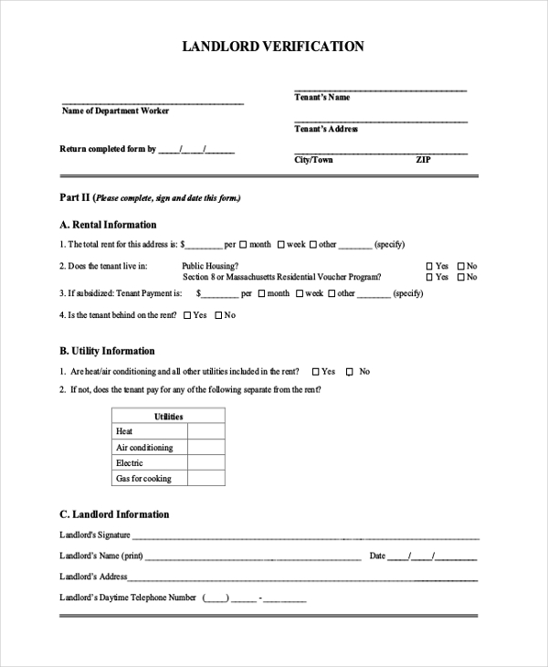 previous employment verification form - Mavij-plus