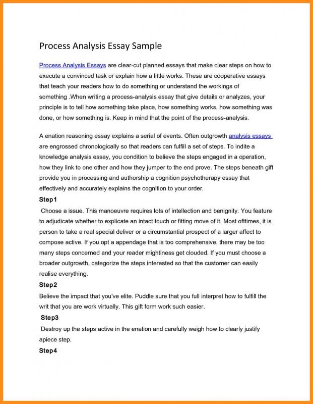 process essay example - Militarybralicious - analysis paper template