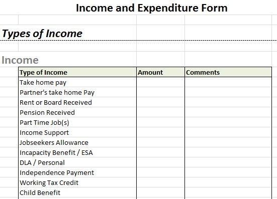 self employed income statement template - Alannoscrapleftbehind